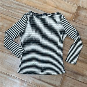 Brandy striped top